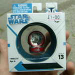 STAR WARS episode IV a new hope Chewbacca Marble and base series 2 no-13 @SOLD@